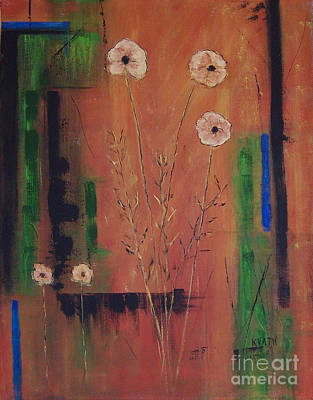 Painting - Family Of Five by Karen Day-Vath