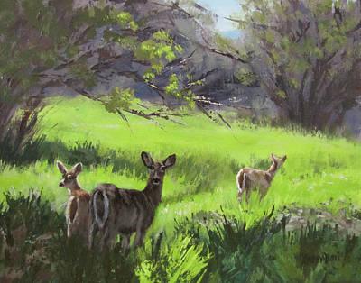 Painting - Family Outing by Karen Ilari