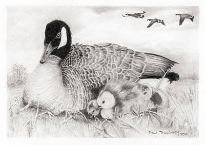 Family Art Print by Paul Treadway