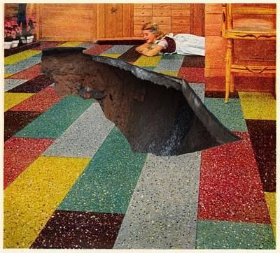 Giuseppe Cristiano - Family Room Sink Hole by Alan McCormick