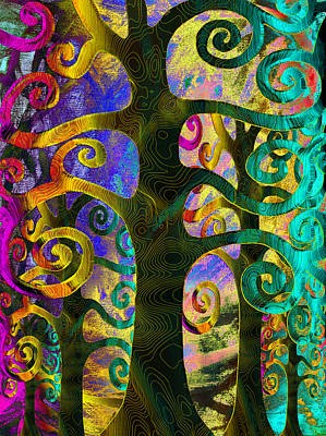 Digital Art - Family Struggle 4 by Angelina Tamez