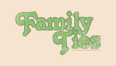 Keaton Digital Art - Family Ties - Logo by Brand A