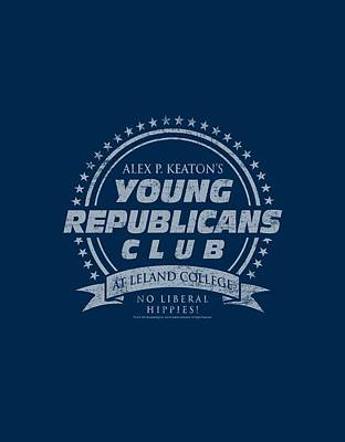 Fox Digital Art - Family Ties - Young Republicans Club by Brand A