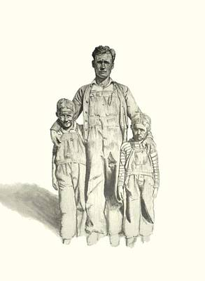 Family Art Print by Todd Spaur