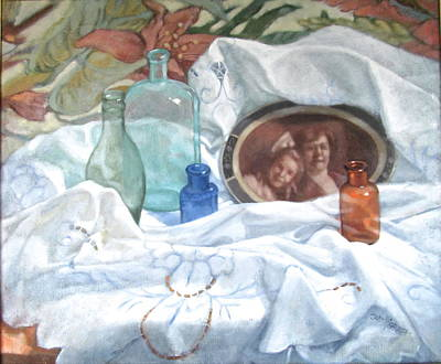 Painting - Family Treasures by Janet McGrath