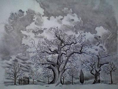 Family Tree Art Print by Mark Greenhalgh