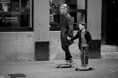 Riding Wall Art - Photograph - Family Values by Vadim