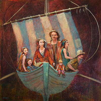 Painting - Family Vessel by Jennifer Croom