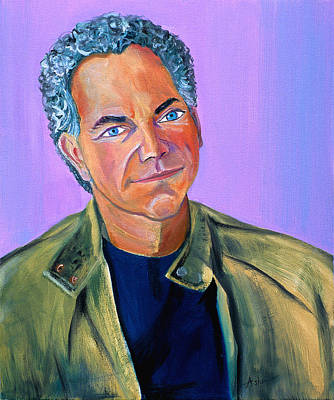 Painting - Famous American Photographer And Author by Asha Carolyn Young