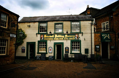 Outerspace Patenets Rights Managed Images - Famous Bakewell  Pudding Factory In The Peak District - England Royalty-Free Image by Doc Braham