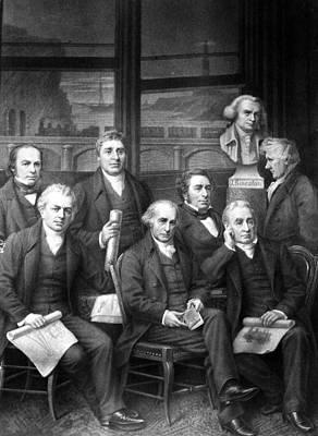 Famous Engineers Art Print
