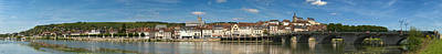 Jacques Photograph - Famous Hotel-restaurant In A Town by Panoramic Images