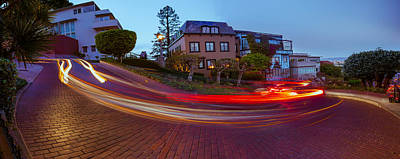 Photograph - Famous Lombard Street by Jerome Obille