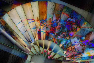 Photograph - Fan-tastic by Jodie Marie Anne Richardson Traugott          aka jm-ART