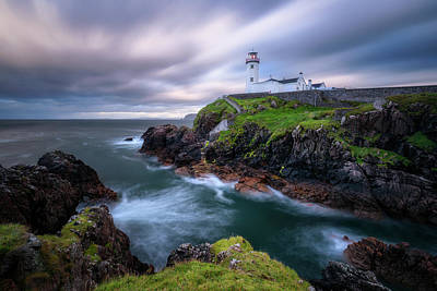 Lighthouse Wall Art - Photograph - Fanad Head Lighthouse by Daniel F.