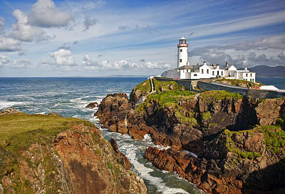 Lighthouse Photograph - Fanad Lighthouse Donegal Ireland by Marcia Colelli