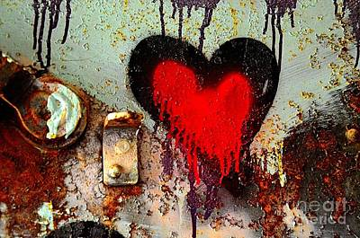 Fanatic Heart Art Print by Lauren Leigh Hunter Fine Art Photography