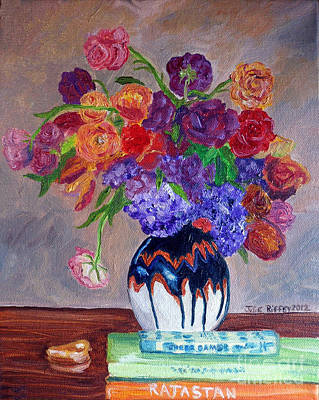Painting - Fanciful Bouquet by Julie Brugh Riffey