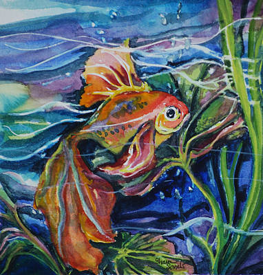 Painting - Fanciful Fish by Sharon Sorrels