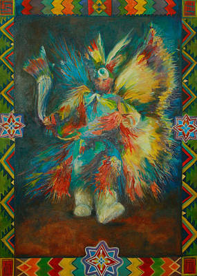 Fancy Dancer Original by Anika Ferguson