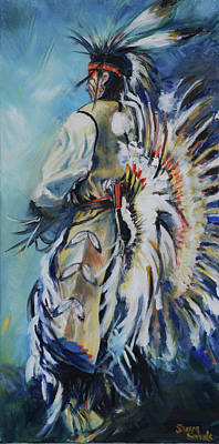 Painting - Fancy Dancer by Sharon Sorrels