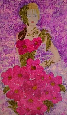 Fancy Dress Art Print by Linda Brown