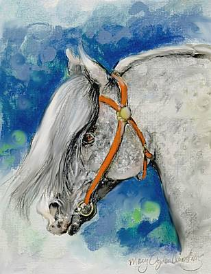 Painting - Fancy Gray by Mary Armstrong