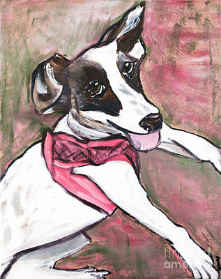 Painting - Fancy Little Girl by Rebecca Weeks Howard