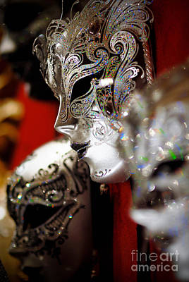 Masks Photograph - Fancy Masks For Masquerade Ball by Amy Cicconi