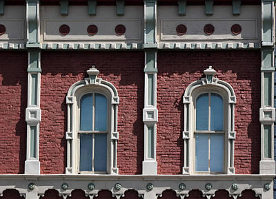 Photograph - Fancy Windows by Mary Bedy