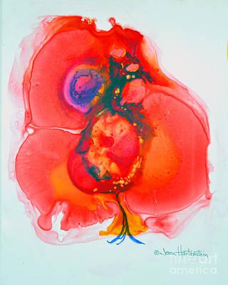 Art Print featuring the painting Fandango II by Joan Hartenstein