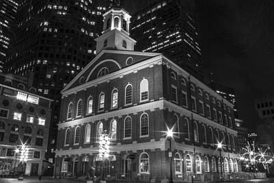 Photograph - Faneuil Hall Boston  by John McGraw
