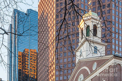 Photograph - Faneuil Hall Cupola by Susan Cole Kelly