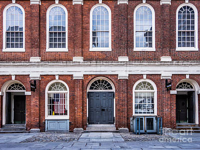 Photograph - Faneuil Hall Facade by Susan Cole Kelly