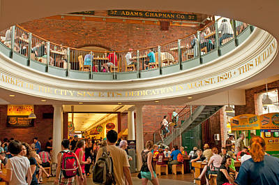 Photograph - Faneuil Hall Marketplace by Paul Mangold