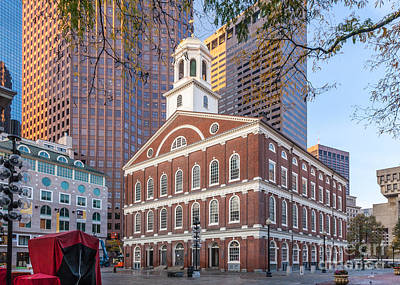 Photograph - Faneuil Hall by Susan Cole Kelly