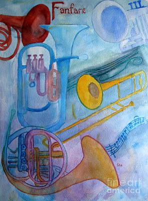 Fanfare Art Print