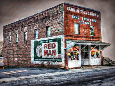 Fannin Tobacco And Candy Company Art Print by Kenny Francis