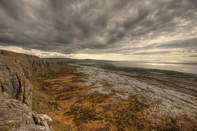 Burren Photograph - Fanore Burren View by John Quinn