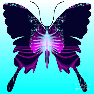 Digital Art - Fantasy Butterfly by Renee Trenholm