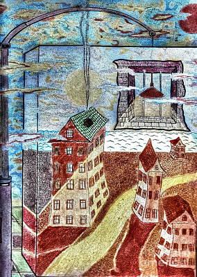 Fantasy Dream Art Print by Yury Bashkin