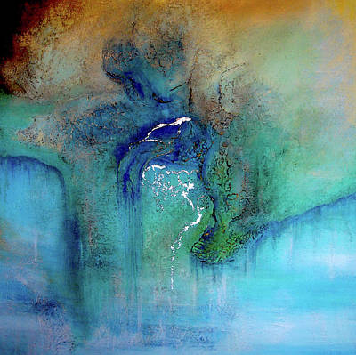 Painting - Fantasy Falls by Tamara Bettencourt