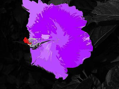 Digital Art - Fantasy Flower 4 by Ron Davidson