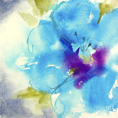 Graphics Painting - Fantasy Flower II by Chris Paschke
