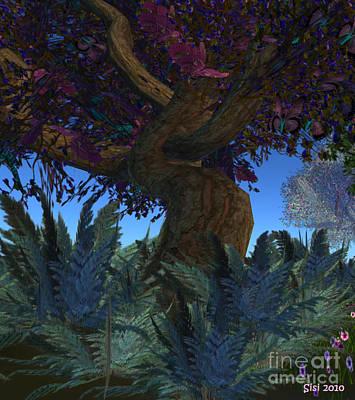 Fantasy Garden Art Print by Susanne Baumann