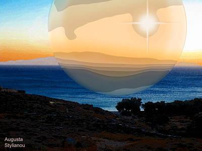 Digital Art - Giant Planet by Augusta Stylianou