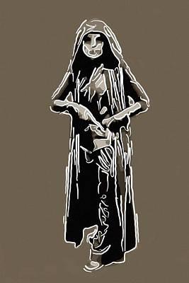 Fantasy Gothic Warrior Original