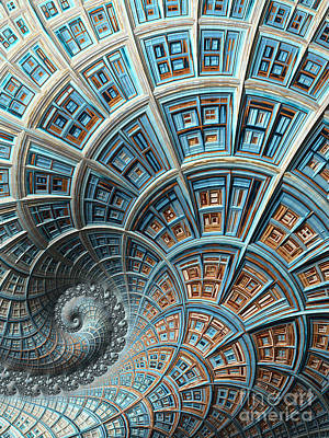 Digital Art - Fantasy High Rise by Heidi Smith