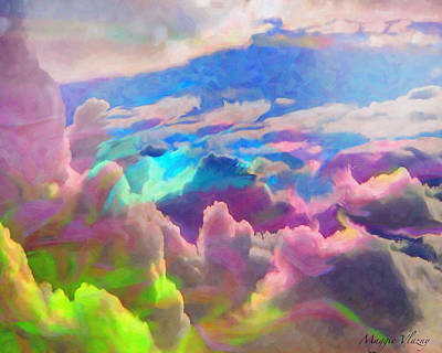 Digital Art - Abstract Fantasy Sky by Femina Photo Art By Maggie