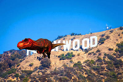 Fantasy - T Rex Escape From Hollywood Original
